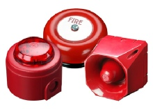 fire alarm sounders and beacons